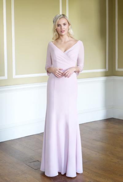 Lace dream in Dark Magenta - True Bridesmaid