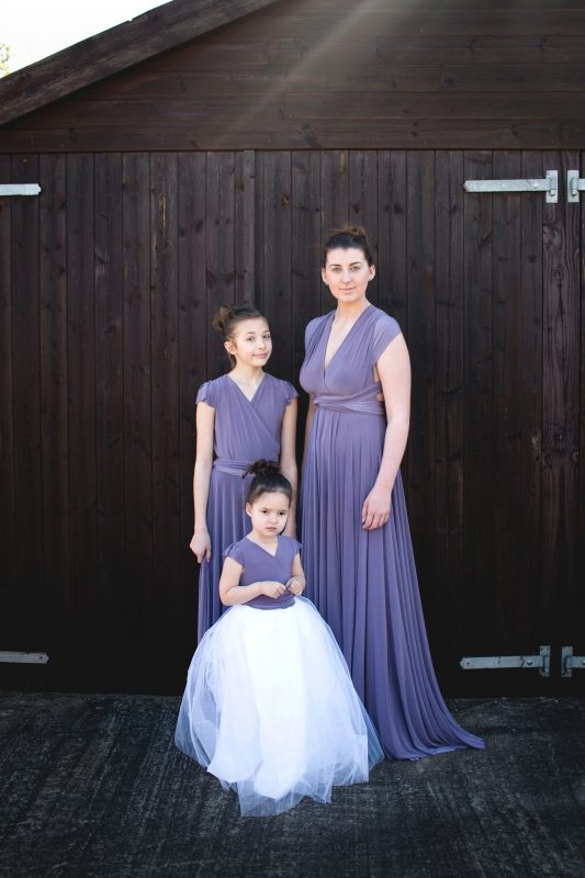 Only-Way Bridesmaids Junior Dress in Victorian Amethyst - Only Way Bridesmaids
