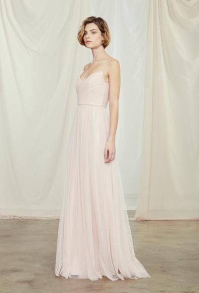 ally amsale bridesmaid dress