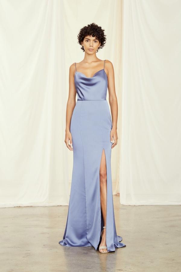 chloe amsale bridesmaids dress
