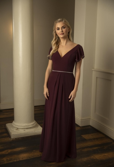 Fearne in Rose Violet - True Bridesmaid