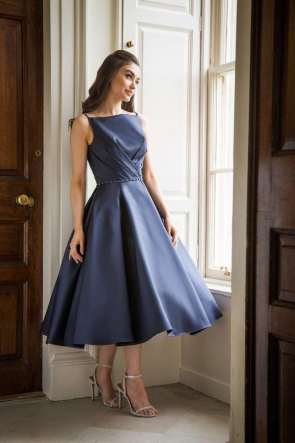 D19 375 special day short bridesmaid dress