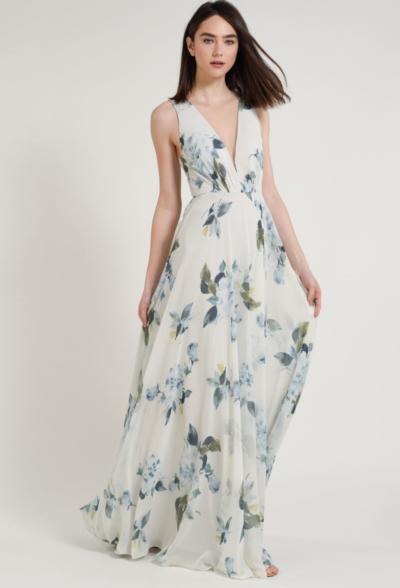 ryan print dress by jenny yoo bridesmaids