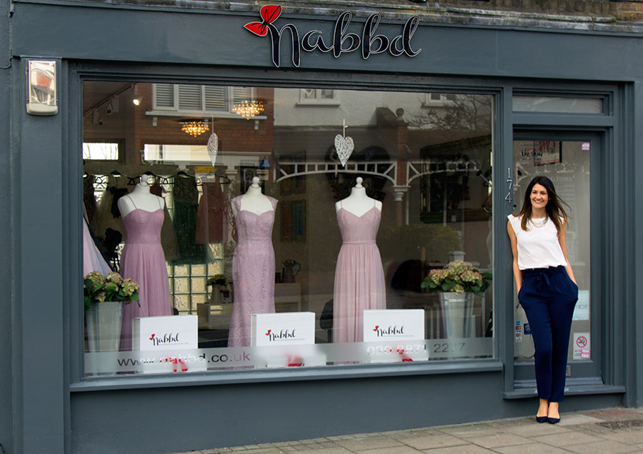 nabbd bridesmaids shop in london