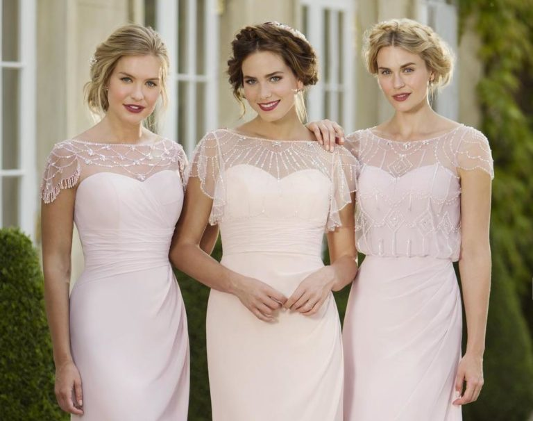 true bride bridesmaids