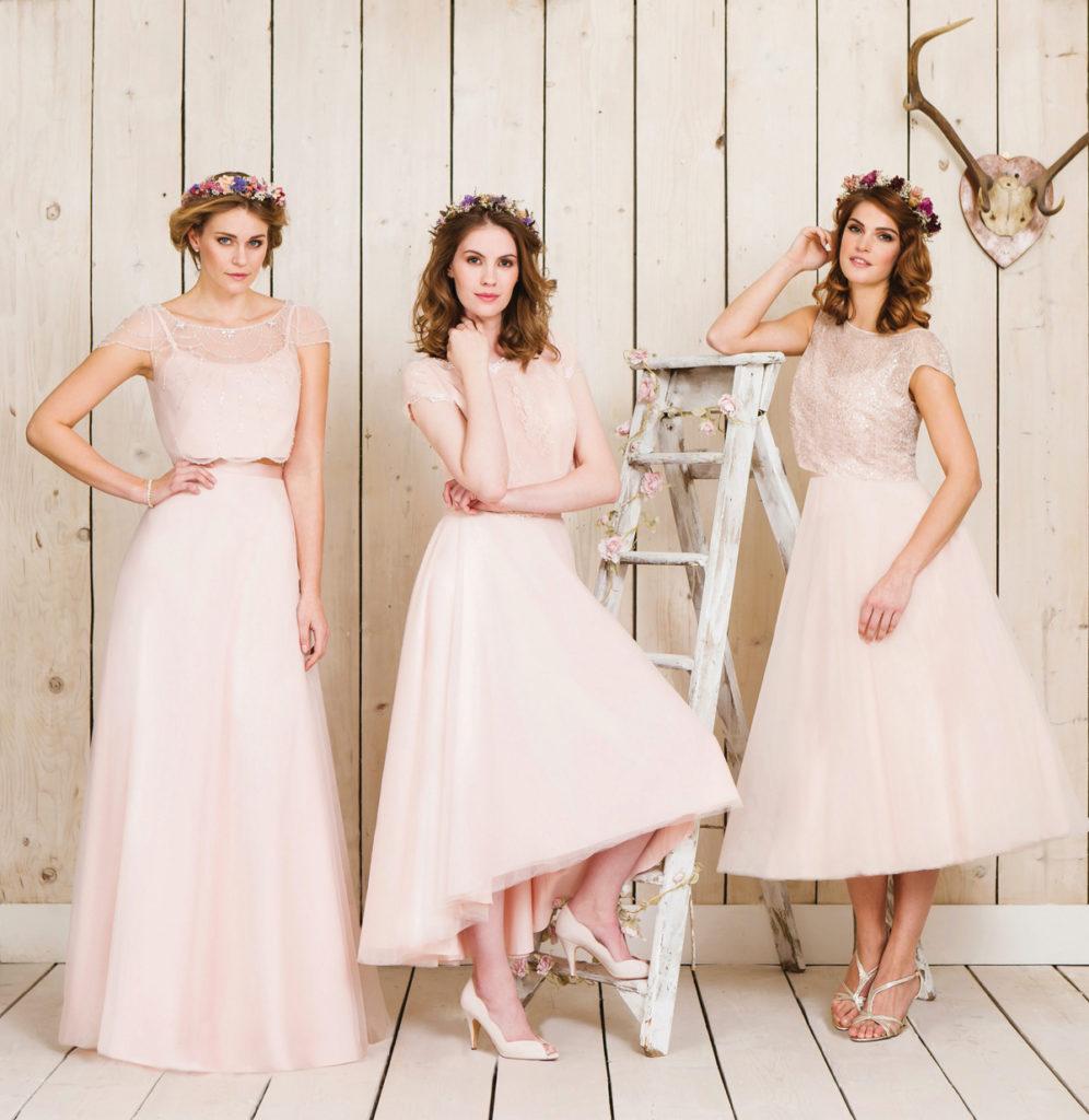 bridesmaids from true bride
