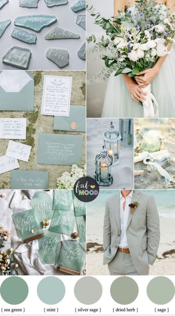 Wedding Colour Trends of 2021 sage green theme