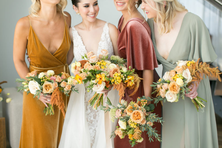 mix and match bridesmaids jenny yoo