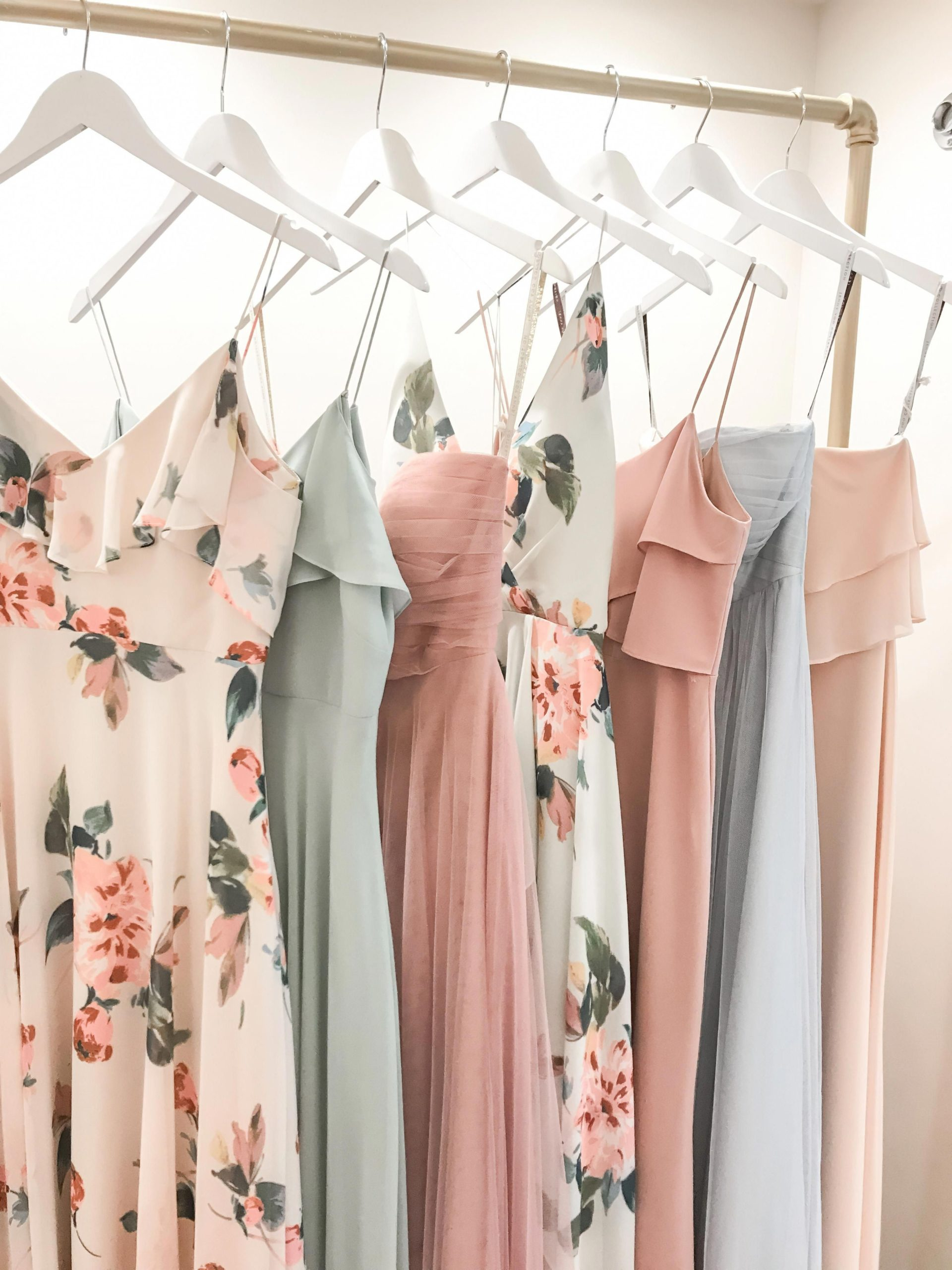 Bridesmaid Dresses in 2021 mismatched jenny yoo