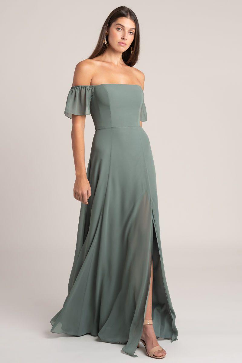 elsie jenny yoo bridesmaids dresses with sleeves