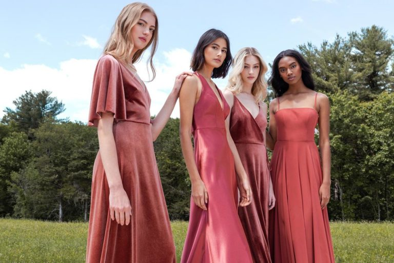 bridesmaids dresses with sleeves
